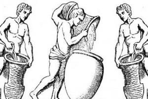 Les romains et le raisin