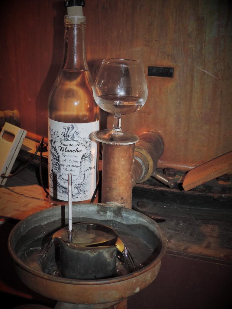 """Distillazione di Armagnac Domaine """"à Lafitte"""""""