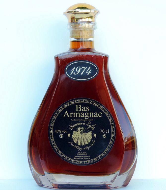 """Caraffa Armagnac 1974 Domaine """"à Lafitte"""""""
