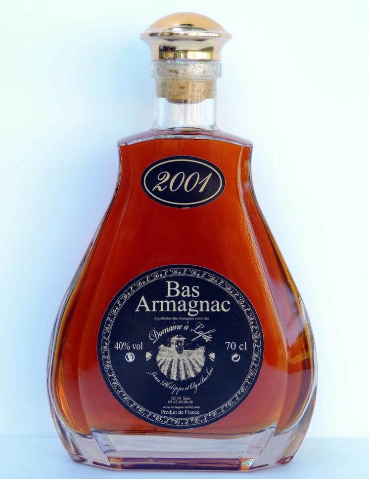 """Caraffa Armagnac 2001 Domaine """"à Lafitte"""""""