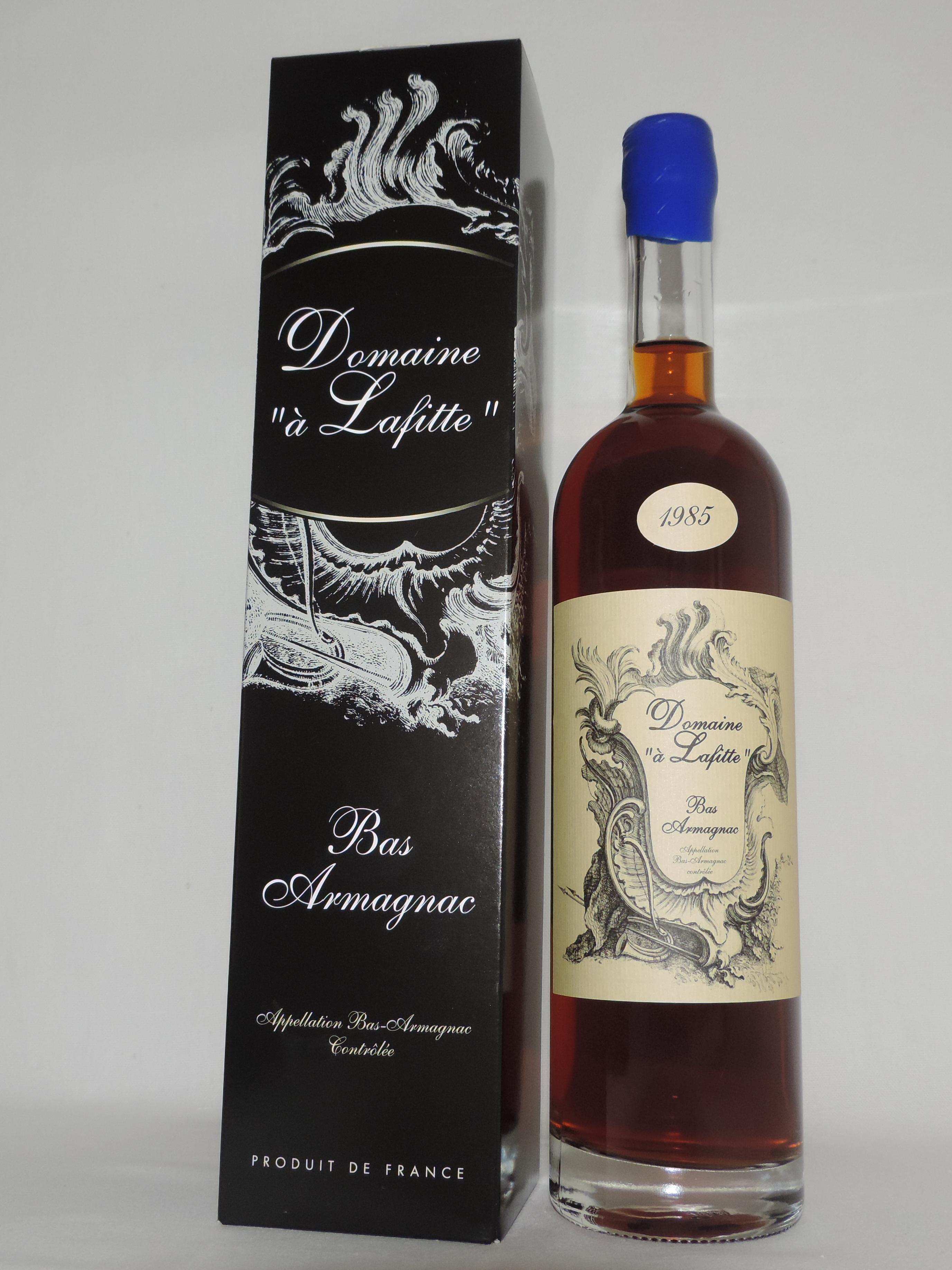 Bottle 1974 Domaine à Lafitte Bas Armagnac