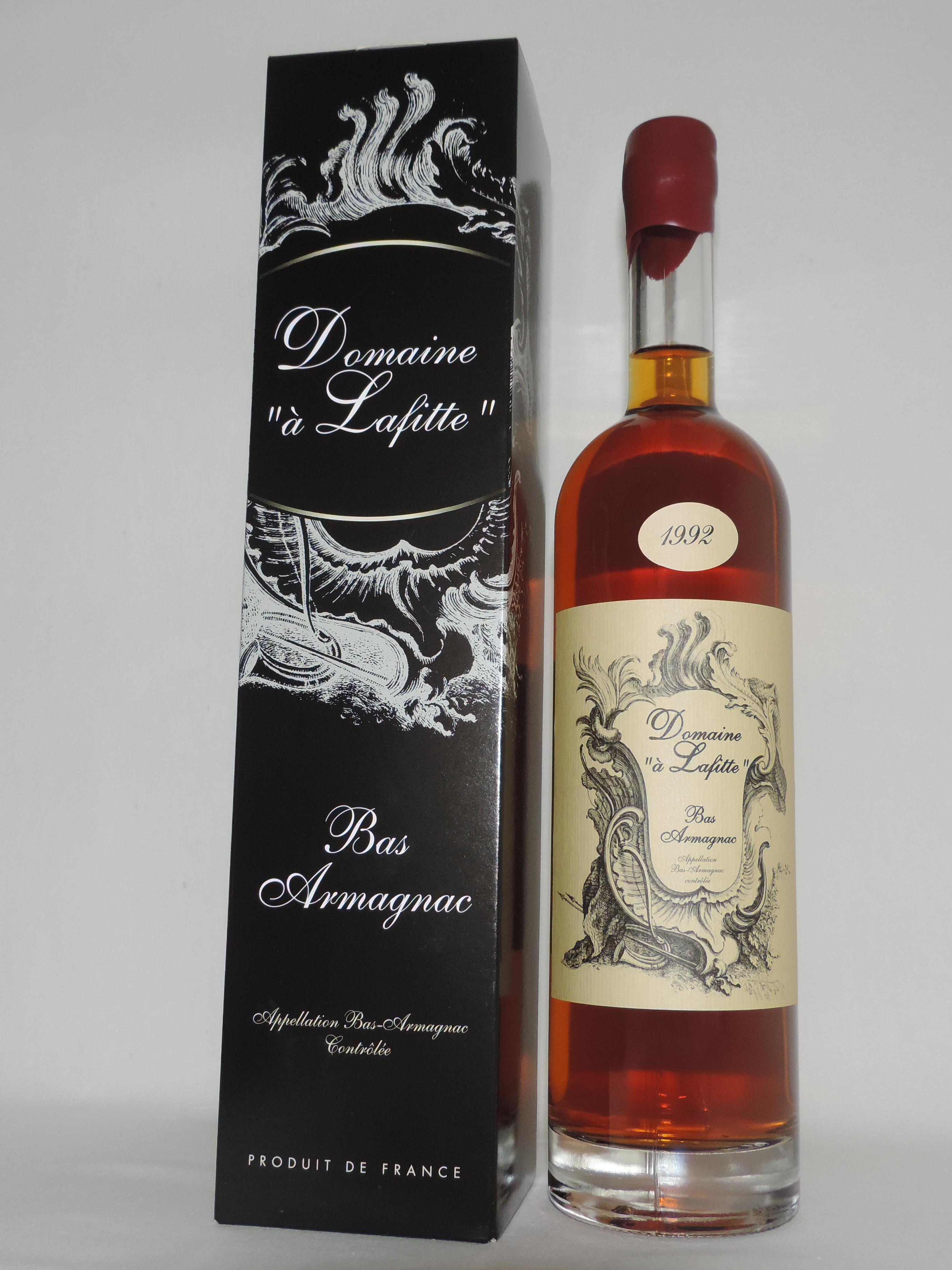 Bottle 1992 Domaine à Lafitte Bas Armagnac